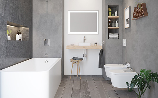 interior bathroom Inspira