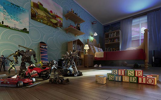 brochure interior bedroom kid kids habitacion